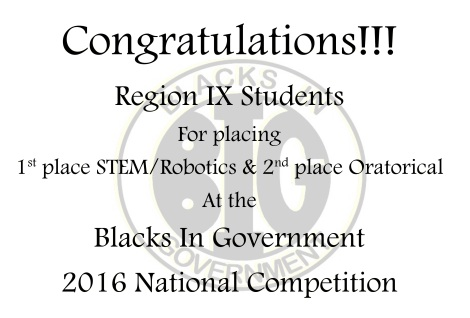Region IX Student Competition