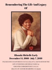 Past President Rhonda Early